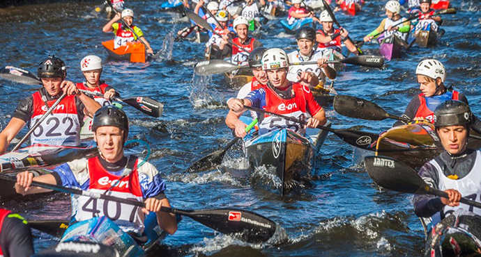 Krumlovský vodácký maraton 2019